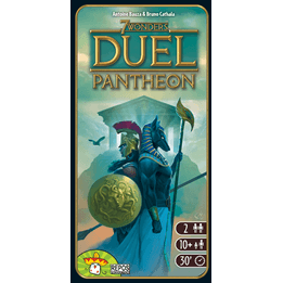 7 Wonders Duel: Pantheon (Exp.) (Sv)