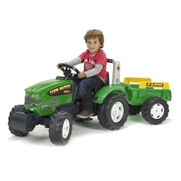 Falk, Traktor Farm med Vagn Grön 3-7 år