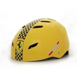 Ferrari, Skatehjälm justerbar medium, gul
