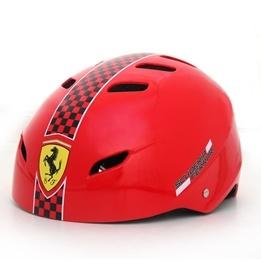 Ferrari, Skatehjälm justerbar medium, röd