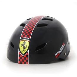 Ferrari, Skatehjälm justerbar medium, svart