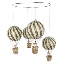 Filibabba, Luftballong Mobil Guld 10 cm