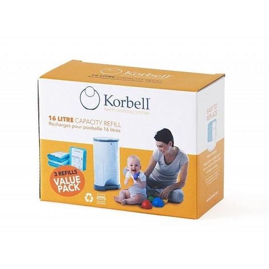 Korbell, Blöjhink Refill 3-pack