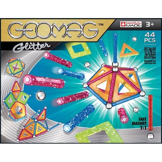 Geomag Panels Glitter, 44 pcs