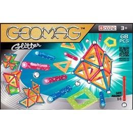 Geomag Panels Glitter, 68 pcs