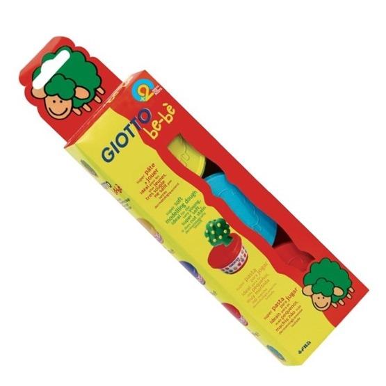 Giotto, Bebè Modellera 3-pack Gul/Blå & Röd