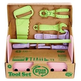 Green Toys, Verktygslåda Rosa 15 delar