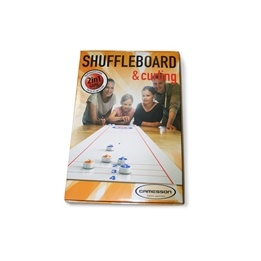 Gamesson, 2 in 1 Shuffleboard and Curling