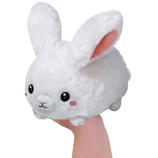 Squishable, Mini Fluffy Bunny 18 cm