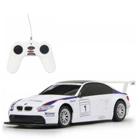 Rastar - Radiostyrd Bil Vit Bmw M3 Sport Rastar 1:24