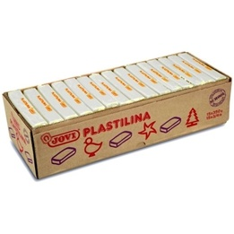 Jovi - Plastilina - Modellera15 x 350 Gram - Vit