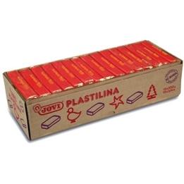 Jovi - Plastilina - Modellera15 x 350 Gram - Mörkröd