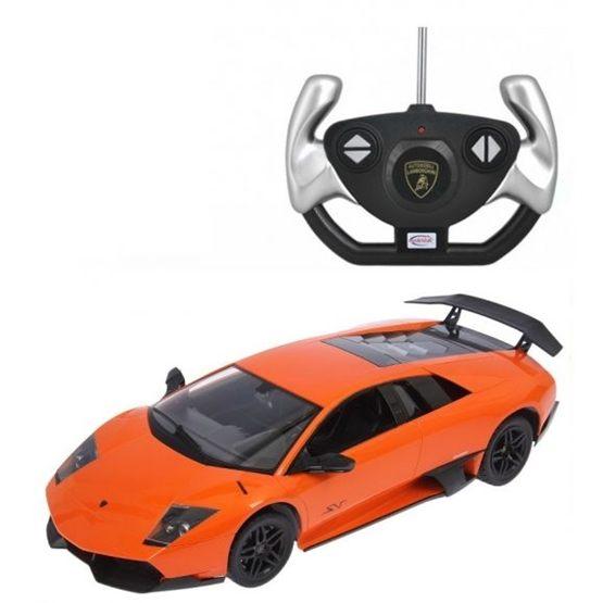 Rastar - Radiostyrd Bil Lamborghini Murcielago Lp670-4 Sv Rastar Orange 1:14