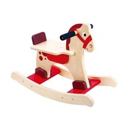 Tooky Toy - Gunghäst För Barn I Trä
