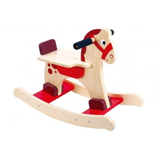 Tooky Toy - Gunghäst För Barn I Trä Tooky Toy