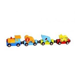 Tooky Toy - Tåg Med Cirkusdjur Till Tågbanor