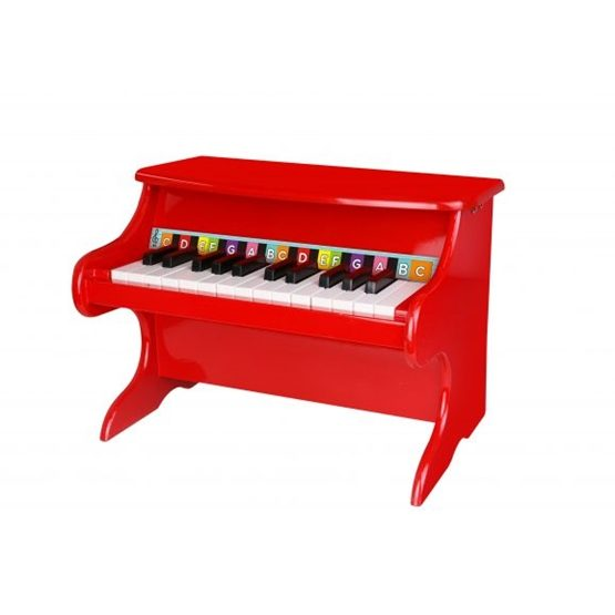 Tooky Toy - Leksakspiano I Trä Med Fin Klang Tooky Toy