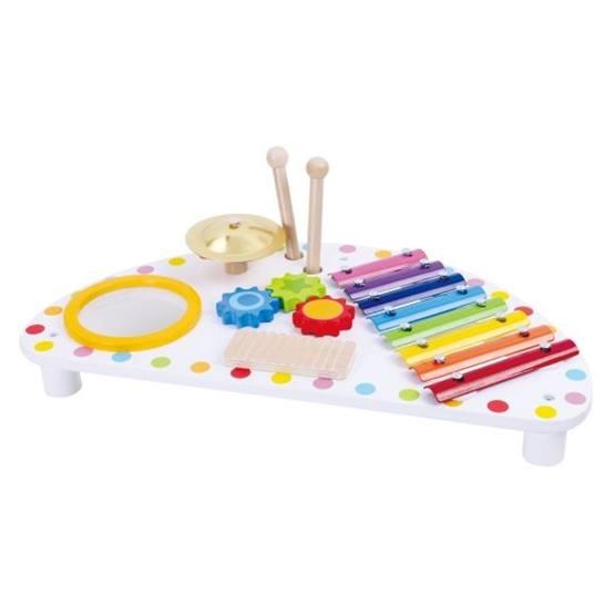 Tooky Toy - Multimusikstation I Trä, Slagverksinstrument För Den Lilla Musikern Tooky Toy