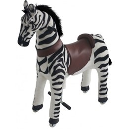 Gidygo - Mekaniskt Riddjur - Zebra - Sitthöjd 66 Cm