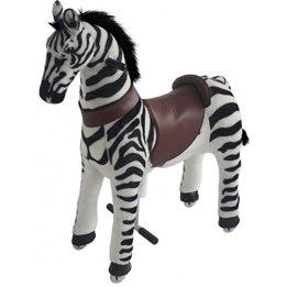Gidygo - Mekaniskt Riddjur - Zebra - Sitthöjd 54 Cm