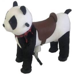 Gidygo - Mekaniskt Riddjur - Panda - Sitthöjd 54 Cm