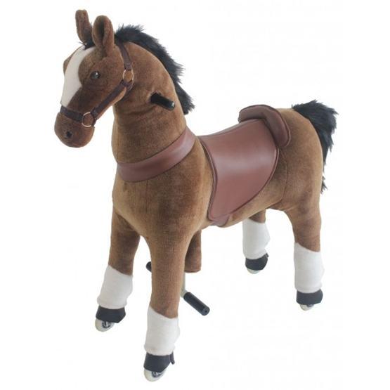 Gidygo - Mekanisk Häst Hästen Star. Gidygo. Sitthöjd 54 Cm.