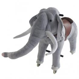 Gidygo - Mekaniskt Riddjur - Elefant - Sitthöjd 66 Cm