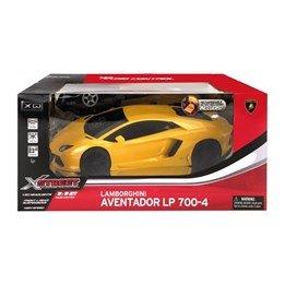Xq - Lamborghini Gul Aventador Lp700-4 Radiostyrd Leksaksbil 1:12