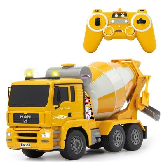Jamara - Radiostyrd Jamara lastbil betongblandare MAN 1:20