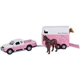 Kids Globe - Mitsubishi Med Hästtrailer