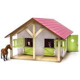 Kids Globe - Stall Till Hästar Schleich - Skala 1:24.
