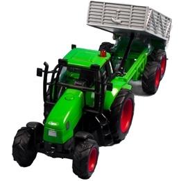 Kids Globe - Traktor Med Släp