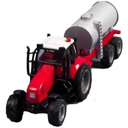 Kids Globe - Traktor Med Gödseltank