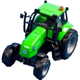 Kids Globe - Traktor - Grön