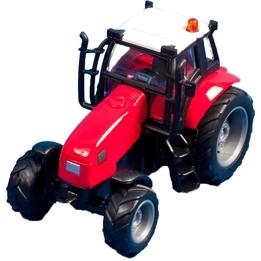Kids Globe - Traktor - Röd