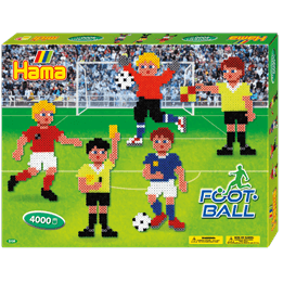 Hama, Midi Gift box 4000 st - Fotboll