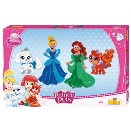 Hama, Midi Gift box 6000 st - Disney Princess