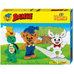 Hama, Midi Gift box 4000 st - Bamse