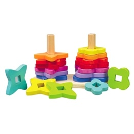 Hape, Double Rainbow Stacker