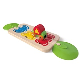 Hape, Tågset- Color & Shape Sorting