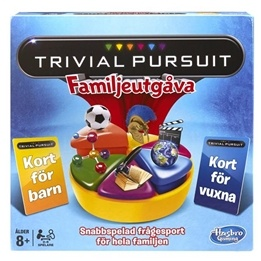 Hasbro, Trivial Pursuit Family (Sv)