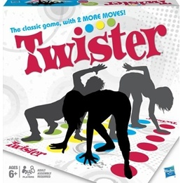 Hasbro, Twister Refresh, Spelmatta