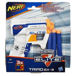 NERF N´strike TRIAD EX-3-blaster