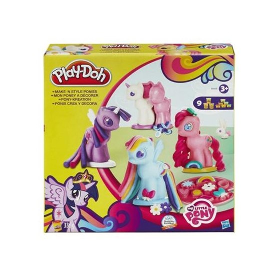 Play Doh, My Little Pony Make and Style Ponies