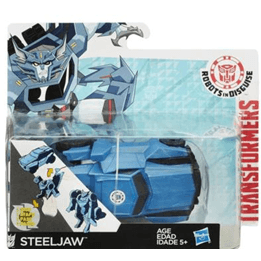 Transformers, One Step Changer Steeljaw, Robots in Disguise