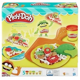 Play Doh, Pizza Party Set