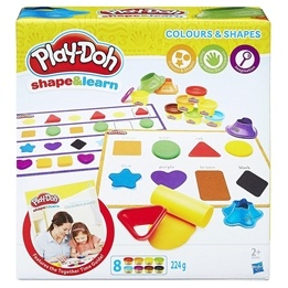 Play-Doh, Shape & Learn - Färger & former