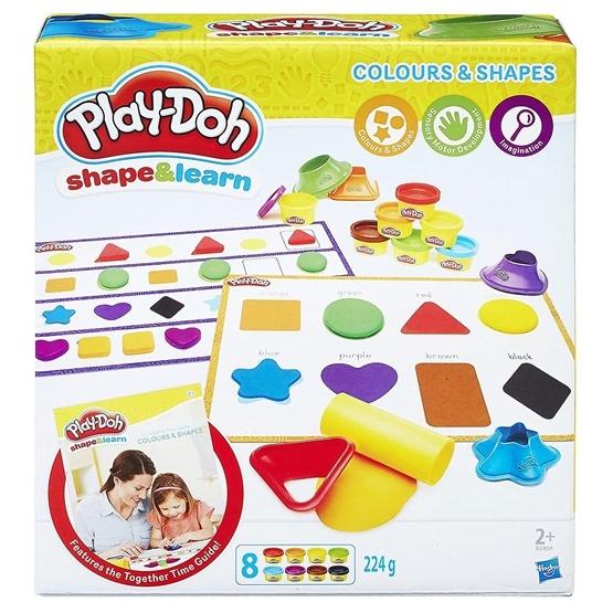 Play-Doh, Shape & Learn - Färger & former