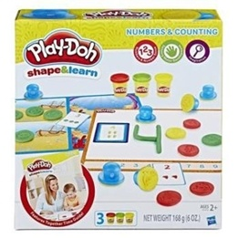 Play-Doh, Shape & Learn Numbers & Counting