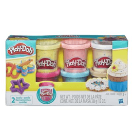 Play-Doh, Konfettilera, 6-pack